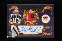 Rob Gronkowski 2010 Crown Royale Rookie Royalty Materials Autographs Prime #13 at PristineAuction.com