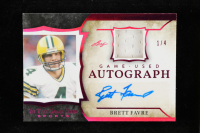 Brett Favre 2020 ITG Used Sports Autographs Magenta Spectrum #GUABF1 at PristineAuction.com