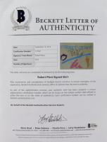 "Robert Plant Signed ""Tour 83"" Shirt (Beckett LOA) at PristineAuction.com"