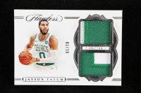 Jayson Tatum 2019-20 Panini Flawless Dual Patches #36 at PristineAuction.com