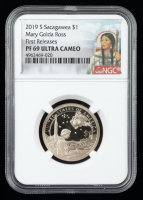 2019-S Sacagawea Dollar (NGC PF 69 Ultra Cameo) at PristineAuction.com