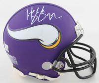 Harrison Smith Signed Vikings Mini Helmet (Beckett Hologram) at PristineAuction.com