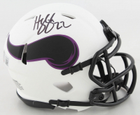 Harrison Smith Signed Vikings Lunar Eclipse Alternate Speed Mini Helmet (Beckett Hologram) at PristineAuction.com