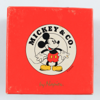 Vintage Disney Mickey Mouse Pin Set with Case at PristineAuction.com