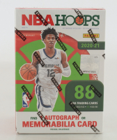 2020-21 Panini NBA Hoops Basketball Winter Holiday Blaster Box with (11) Packs at PristineAuction.com