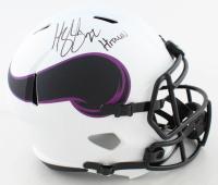 "Harrison Smith Signed Vikings Full-Size Lunar Eclipse Alternate Speed Helmet Inscribed ""Hitman"" (Beckett Hologram) at PristineAuction.com"