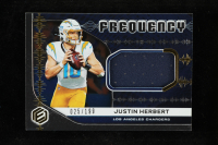 Justin Herbert 2020 Panini Elements Frequency Materials #3 at PristineAuction.com