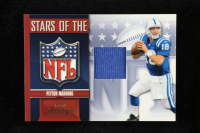 Peyton Manning 2007 Playoff Prestige Stars of the NFL Materials #6 at PristineAuction.com