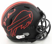 Tyler Bass Signed Bills Eclipse Alternate Speed Mini Helmet (Beckett Hologram) at PristineAuction.com