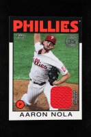Aaron Nola 2021 Topps '86 Topps Relics #86RAN at PristineAuction.com