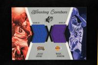 Julius Erving / Magic Johnson 2003-04 SPx Winning Materials Combos #WC15 at PristineAuction.com