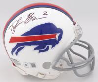 Tyler Bass Signed Bills Mini Helmet (Beckett Hologram) at PristineAuction.com