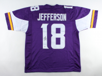 Justin Jefferson Signed Jersey (Beckett Hologram) at PristineAuction.com