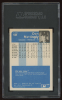 Don Mattingly 1984 Fleer #131 RC (SGC 7.5) at PristineAuction.com