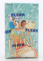 1993 Fleer Ultra Series 2 Baseball Unopened Box of (36) Packs at PristineAuction.com