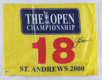 Jack Nicklaus Signed 2000 British Open Golf Flag (Beckett LOA) at PristineAuction.com