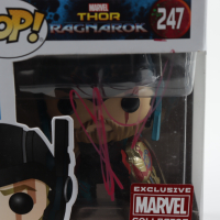 "Chris Hemsworth Signed ""Thor: Ragnarok"" #247 Thor Funko Pop! Bobble-Head Vinyl Figure (Beckett Hologram) (See Description) at PristineAuction.com"