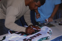 Junior Seau Signed Dolphins Jersey (JSA LOA) at PristineAuction.com