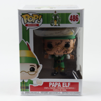 "Bob Newhart Signed ""Elf"" #486 Papa Elf Funko Pop! Vinyl Figure Inscribed ""All the Best"" & ""(Papa Elf)"" (JSA COA) (See Description) at PristineAuction.com"