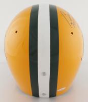 "Bart Starr Signed Packers Full-Size Throwback Suspension Helmet Inscribed ""MVP SB I, II"" & ""HOF '77 (TriStar Hologram) at PristineAuction.com"
