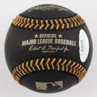Vladimir Guerrero Jr. Signed OML Black Leather Baseball (JSA COA) at PristineAuction.com