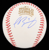 Javier Baez Signed 2016 World Series Baseball (Fanatics Hologram) at PristineAuction.com