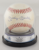 Mickey Mantle Signed OAL Baseball (BGS Encapsulated) at PristineAuction.com
