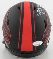 Andre Reed, Thurman Thomas, & Jim Kelly Signed Bills Eclipse Alternate Speed Mini Helmet (JSA COA) at PristineAuction.com