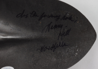 """Henry Hill Signed """"Goodfellas"""" Movie Prop Shovel Inscribed """"Dig the F****** Hole!"""" & """"Goodfella"""" (JSA COA) at PristineAuction.com"""