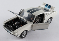 Carroll Shelby Signed 1965 Shelby Mustang GT 350 - 1:24 Premium Action Diecast Car (Beckett LOA) (See Description) at PristineAuction.com
