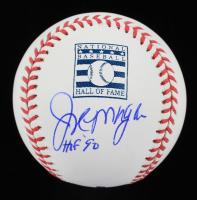 "Joe Morgan Signed Hall of Fame OML Baseball Inscribed ""HOF 90"" (PSA COA) at PristineAuction.com"
