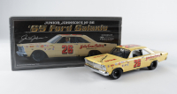 Junior Johnson Signed NASCAR #26 1965 Ford Galaxie 1:24 Premium Diecast Car (Beckett COA) at PristineAuction.com