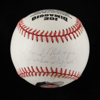 "Joe DiMaggio Signed OL Commemorative Baseball Inscribed ""Yankee Clipper"" (Beckett LOA & DiMaggio Hologram) (See Description) at PristineAuction.com"