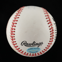 """Joe DiMaggio Signed OL Commemorative Baseball Inscribed """"Yankee Clipper"""" (Beckett LOA & DiMaggio Hologram) (See Description) at PristineAuction.com"""