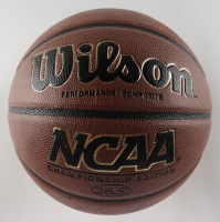 "John Wooden Signed NCCA Basketball Inscribed ""UCLA"" (Beckett COA) (See Description) at PristineAuction.com"
