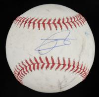 Julio Rodriguez Signed Game-Used OML Baseball (JSA COA) at PristineAuction.com