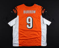 Joe Burrow Signed Bengals Jersey (Fanatics Hologram) at PristineAuction.com