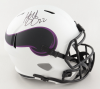 Harrison Smith Signed Vikings Full-Size Lunar Eclipse Alternate Speed Helmet (Beckett Hologram) (See Description) at PristineAuction.com