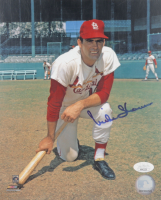 Mike Shannon Signed Cardinals 8x10 Photo (JSA COA) at PristineAuction.com