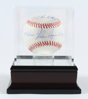 Nolan Ryan Signed 2013 World Series Baseball with Display Case with Multiple Inscriptions (PSA COA) at PristineAuction.com