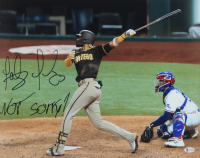 "Fernando Tatis Jr. Signed Padres 16x20 Photo Inscribed ""Not Sorry!"" (Beckett COA) at PristineAuction.com"