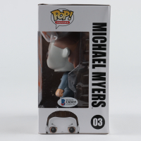 "Nick Castle Signed ""Halloween"" #03 Michael Myers Funko Pop! Vinyl Figure (Beckett Hologram) (See Description) at PristineAuction.com"