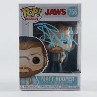 "Richard Dreyfuss Signed ""Jaws"" #756 Matt Hooper Funko Pop! Vinyl Figure (Beckett Hologram) (See Description) at PristineAuction.com"