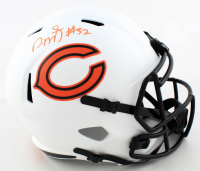 David Montgomery Signed Bears Full-Size Lunar Eclipse Alternate Speed Helmet (Beckett COA) at PristineAuction.com
