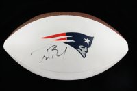 Tom Brady Signed Patriots Logo Football (JSA LOA) at PristineAuction.com