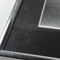 Bob Feller Signed Indians 11.25x14.5 Custom Framed Photo Display (JSA COA) (See Description) at PristineAuction.com