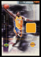 Kobe Bryant 2001 Upper Deck Game-Used Jersey Card at PristineAuction.com