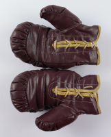 Mike Tyson Signed Pair of Franklin Boxing Glove With Display Case (PSA COA) at PristineAuction.com
