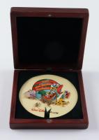 Walt Disney World 2000 Cast Holiday Celebration Set of (5) Pins With Original Box at PristineAuction.com