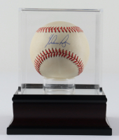 Nolan Ryan Signed OAL Baseball With Display Case (PSA COA) (See Description) at PristineAuction.com